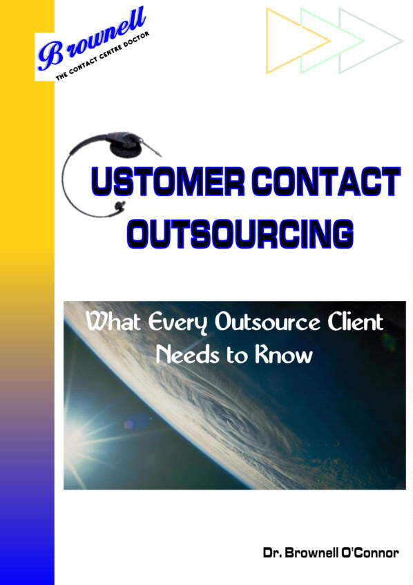 Customer Contact Outsourcing