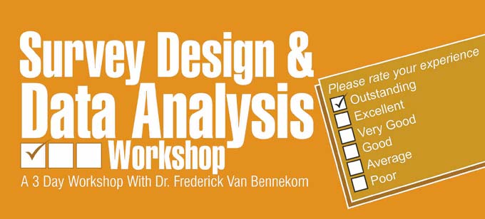 Survery Design & Data Analysis Seminar in Dubai